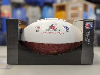Kansas City Chiefs 2020 AFC Championship Football by Rawlings