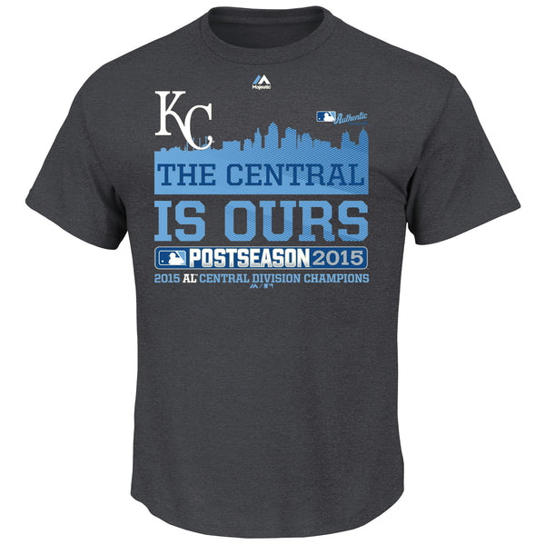 Kansas City Royals We Own The Central Youth Locker Room T-Shirt by Majestic