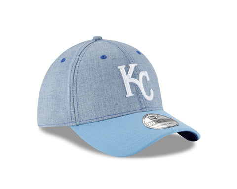Kansas City Royals Blue Change Up Classic 39THIRTY Hat by New Era