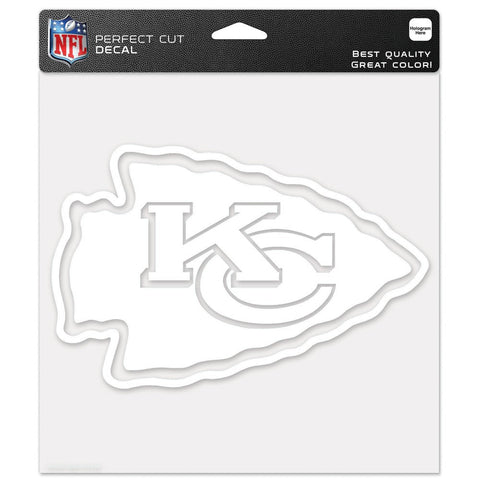 "Kansas City Chiefs Perfect Cut Decals 8"" x 8"""