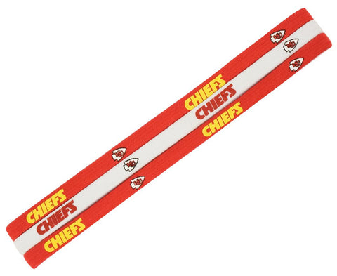 Kansas City Chiefs Elastic Headbands
