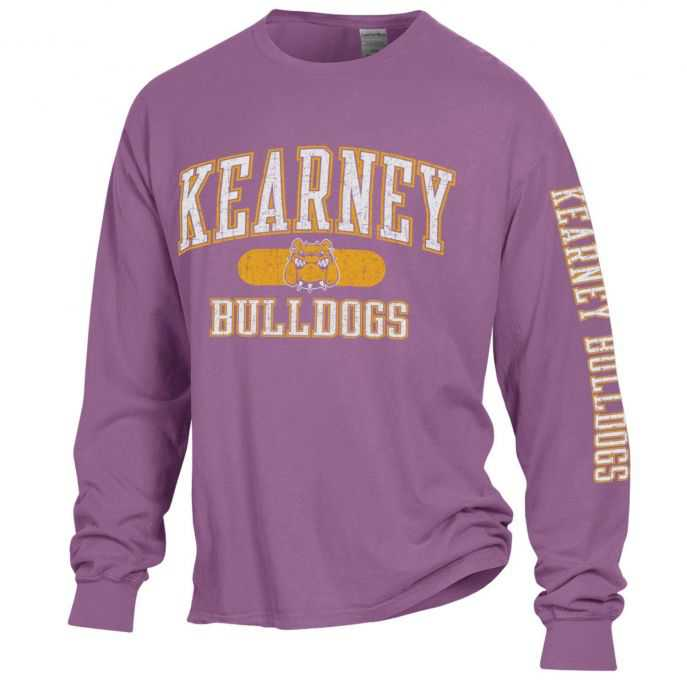 Kearney Bulldogs Comfort Wash Logo Long Sleeve T-Shirt by Gear