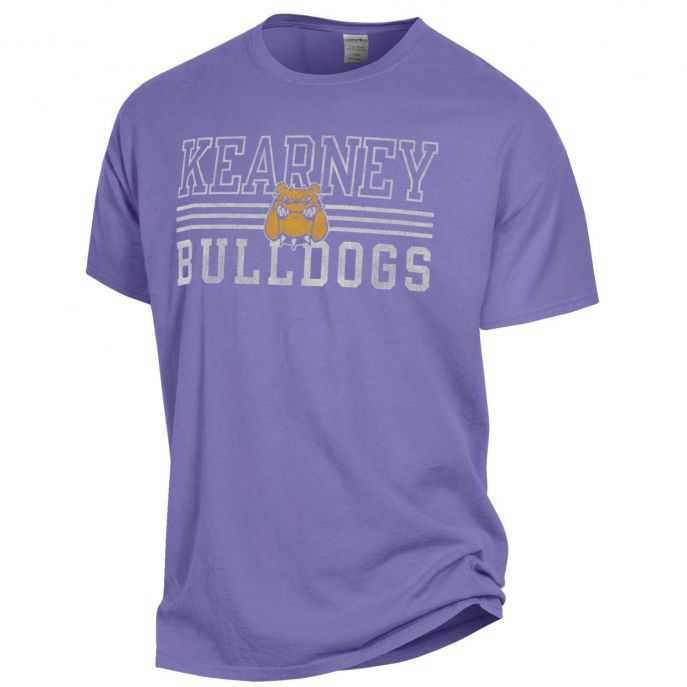 Kearney Bulldogs Comfort Wash Logo T-Shirt by Gear