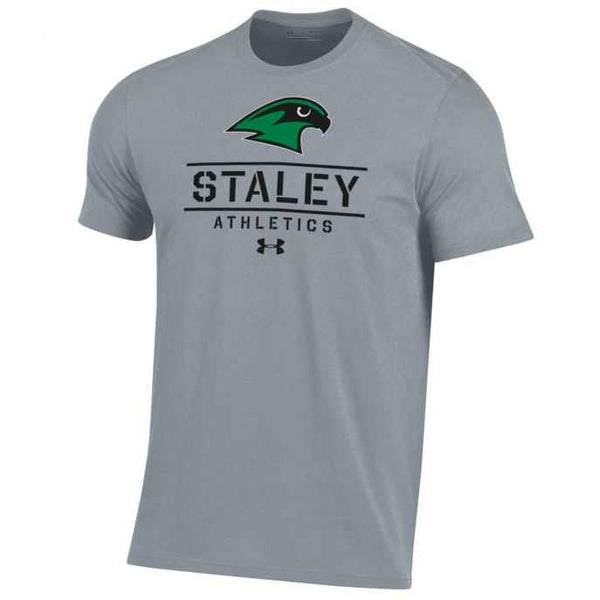 Staley Falcons Grey Dual Bend Logo T-Shirt by Under Armour