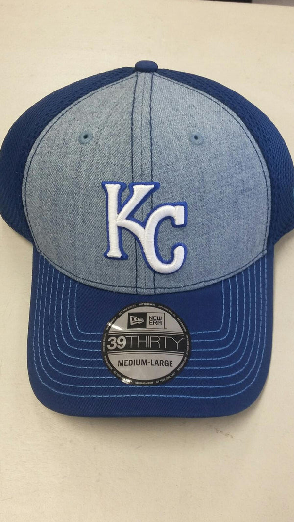 Kansas City Royals Heathered Neo 39THIRTY Hat by New Era