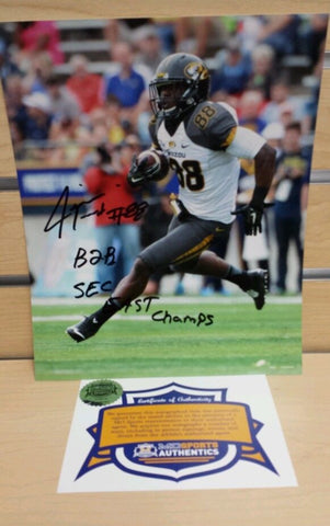 Missouri Tigers Jimmie Hunt Signed Autographed 8x10 Photo COA CLEARANCE