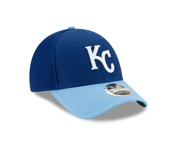 Kansas City Royals 2020 Adjustable 9FORTY 2 Tone Blue Logo Hat by New Era