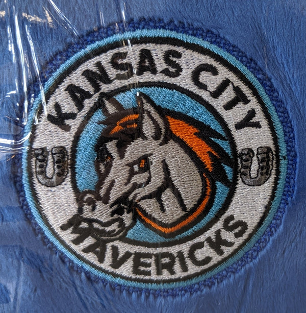 Kansas City Mavericks Blue Mink Sherpa 50