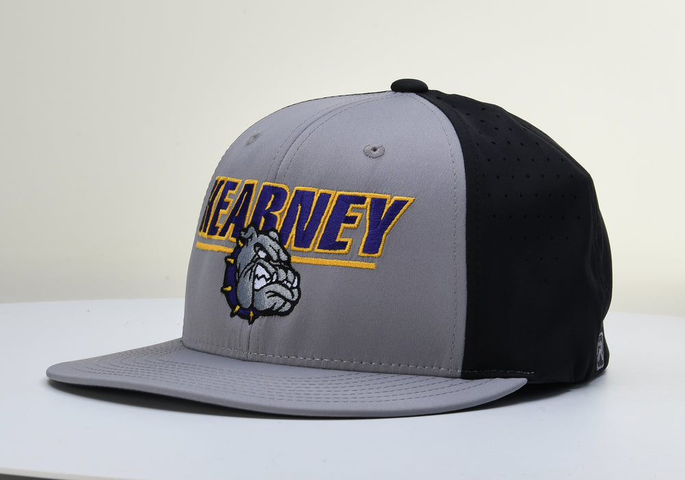 Kearney Bulldogs Grey/Black Flexfit PTS30 Mesh Hat by Richardson