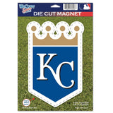 Kansas City Royals Die Cut Logo Magnet 6.25