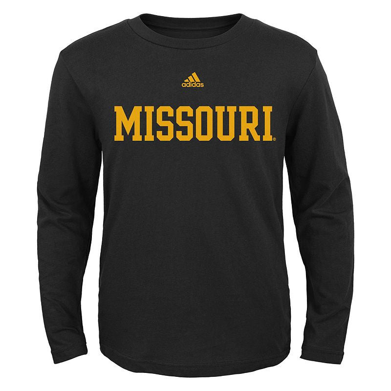 Missouri Tigers Long Sleeve Youth T-Shirt by adidas