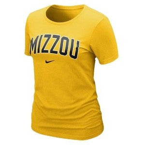 Missouri Tigers Ladies S/S Arch Logo Tee by Nike
