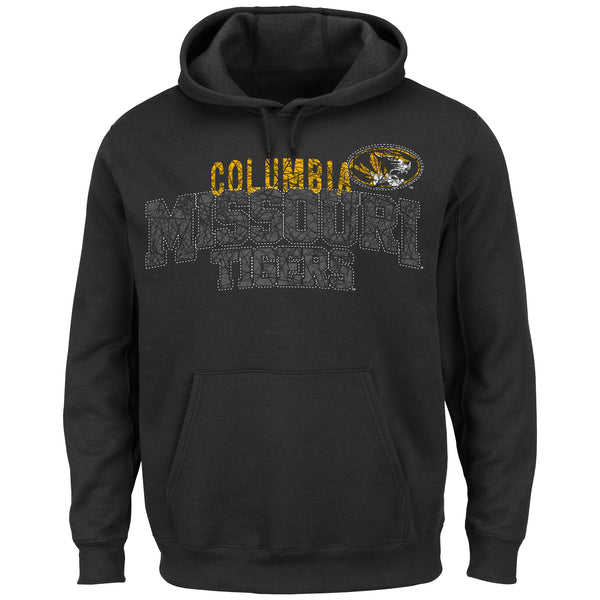 Missouri Tigers Men's Leading The Charge Hooded Pullover Sweatshirt by Majestic