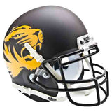 Missouri Tigers Alternate Black Schutt Mini Authentic Helmet