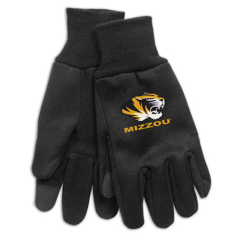 University of Missouri Technology Gloves 9 oz. by McArthur