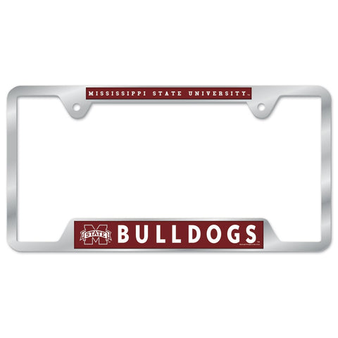 Mississippi State University Metal License Plate Frame