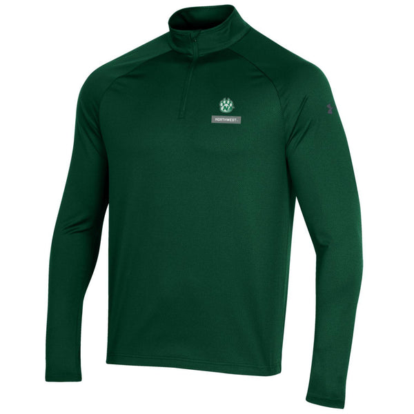 Northwest Missouri State Forest Green 1/4 Zip Long Sleeve by Under Armour