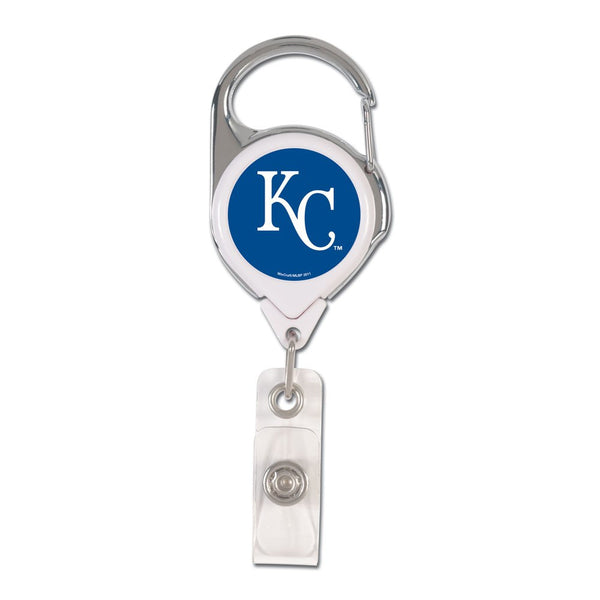 Kansas City Royals Retrct 2S Prem Badge Holder