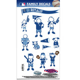 Kansas City Royals Family Decal Set Medium
