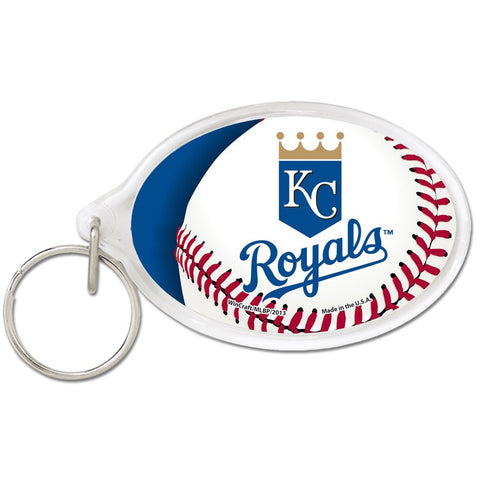 Kansas City Royals Acrylic Key Ring Oval