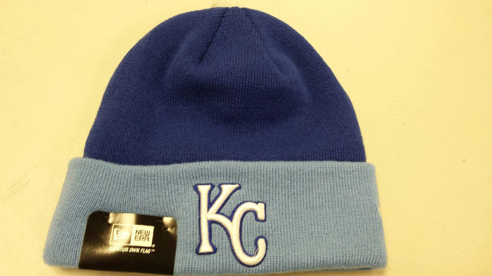 44dba9ff5141a4 Kansas City Royals 2 Tone Knit Hat by New Era | MO Sports Authentics,  Apparel & Gifts