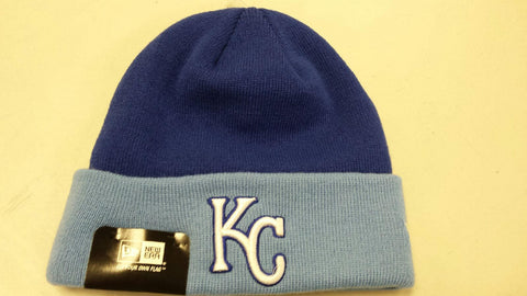 Kansas City Royals 2 Tone Knit Hat by New Era