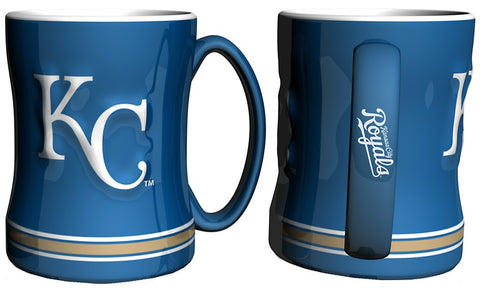 Kansas City Royals Coffee Mug - 14oz Sculpted by Boelter