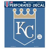 Kansas City Royals Perforated Vinyl Decal 17