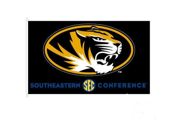 Missouri Tigers Southeastern Conference Flag