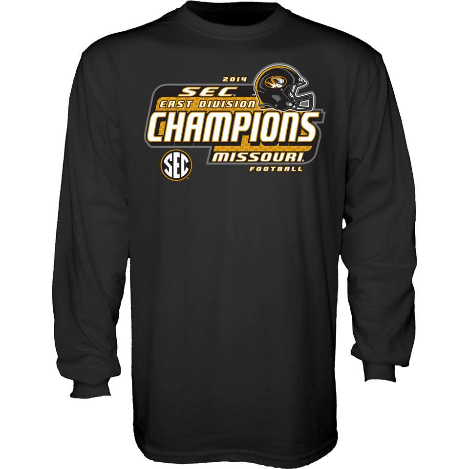 Missouri Tigers L/S SEC East Champions Tee by Blue 84
