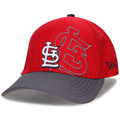 St. Louis Cardinals Shadow Graph Diamond Era 39THIRTY Hat by New Era