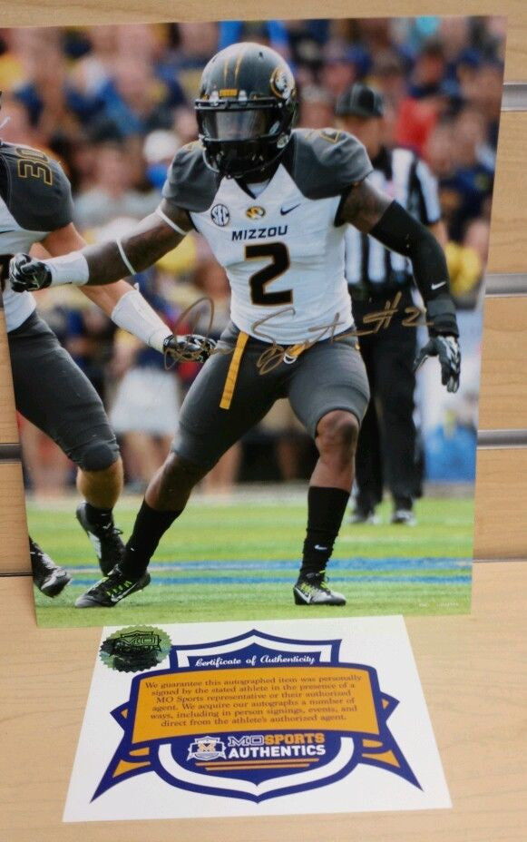 Missouri Tigers Duron Singleton Signed Autographed 8x10 Photo COA
