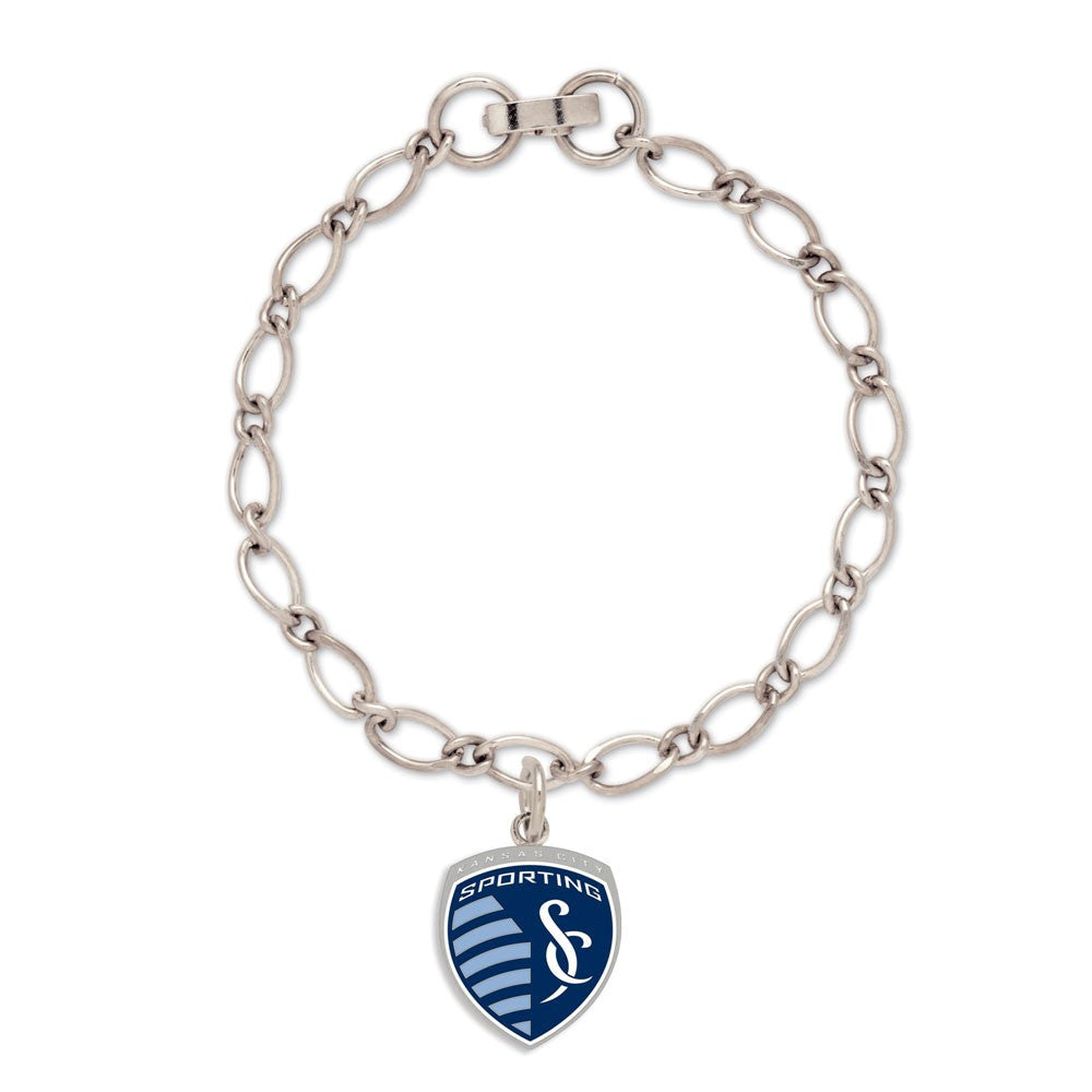 Sporting Kansas City Bracelet w/Charm