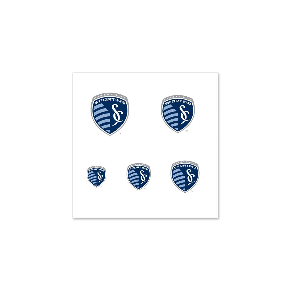 Sporting Kansas City Fingernail Tattoos by Wincraft