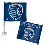 Sporting Kansas City Car Flag 11.75