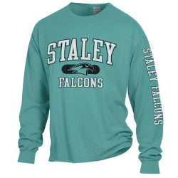 Staley Falcons Comfort Wash Logo Long Sleeve T-Shirt by Gear