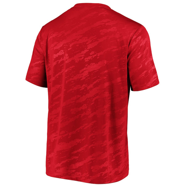 Kansas City Chiefs Red Iconic Defender Stealth Arc T-Shirt - By Fanatics