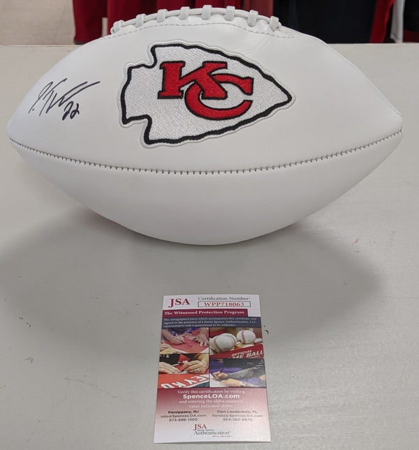 Kansas City Chiefs Juan Thornhill Signed Autographed Football JSA