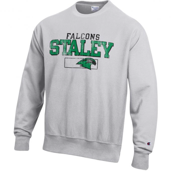 Staley Falcons Reverse Weave Crew Sweatshirt by Champion