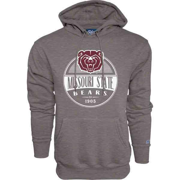 Missouri State University Gray Hamden Hooded Sweatshirt by Blue 84