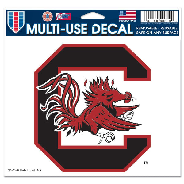 "University of South Carolina Multi-Use Colored Decal 5"" x 6"""
