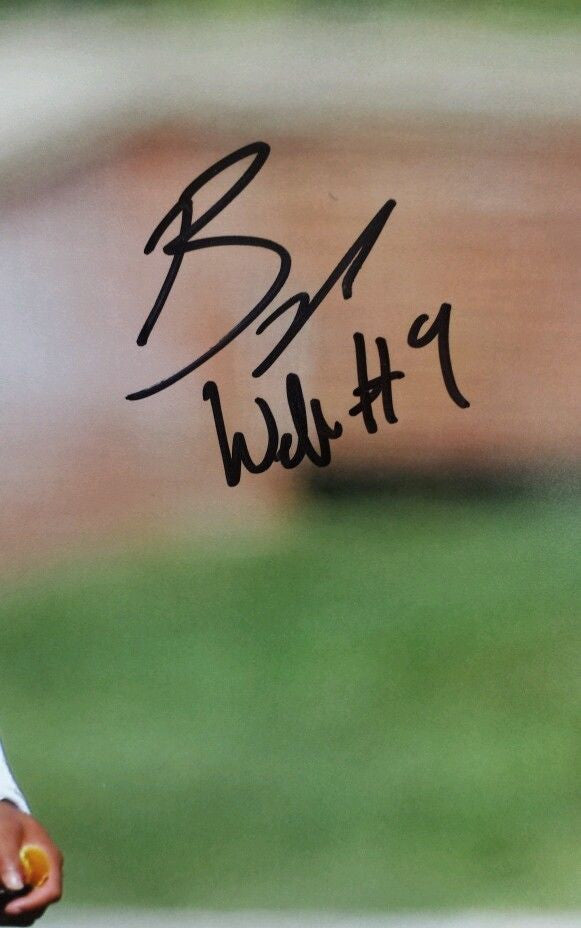 Missouri Tigers Braylon Webb Signed Autographed 8x10 Photo COA