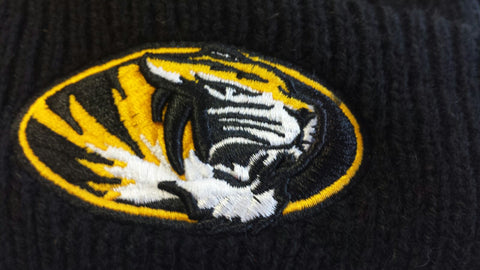 Missouri Tigers Ladies Wintry Warm Knit Hat by New Era