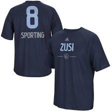 Sporting Kansas City Graham Zusi Kids climalite T-shirt by adidas