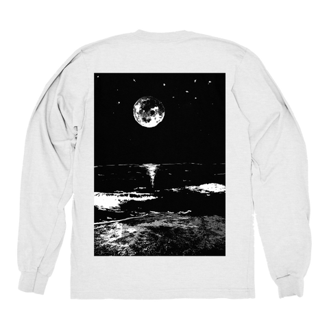 TRANQUILITY LONGSLEEVE - WHITE