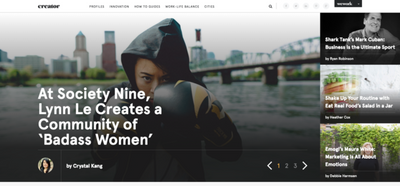 Creator's Young Innovators Series: At Society Nine, Lynn Le creates a community of badass women