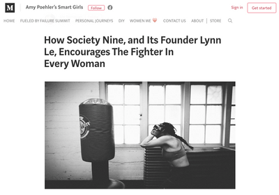 Amy Poehler's Smart Girls: How Society Nine encourages the fighter in every woman