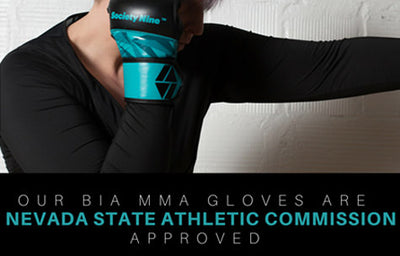 Our Bia MMA Glove gets approval from the Nevada State Athletic Commission!