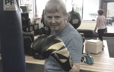 Susan Botyrius: Boxing out Parkinson's Disease.