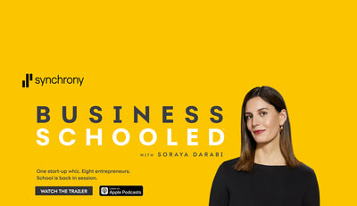 Business Schooled podcast by Synchrony: Episode 8 featuring Society Nine